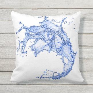 Big Splash Outdoor Pillow