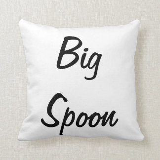 Big Spoon Decorative Throw Pillow
