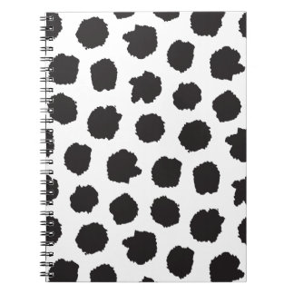 Big spotted notebook