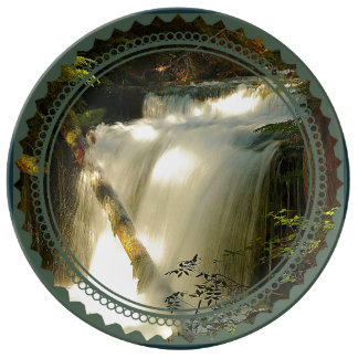 Big Spring Creek Waterfall Porcelain Plates