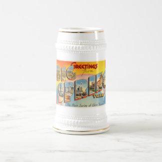 Big Spring Texas TX Old Vintage Travel Souvenir Beer Stein
