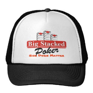 Big Stacked Poker Hat