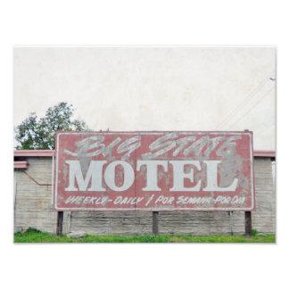 Big State Motel Photograph