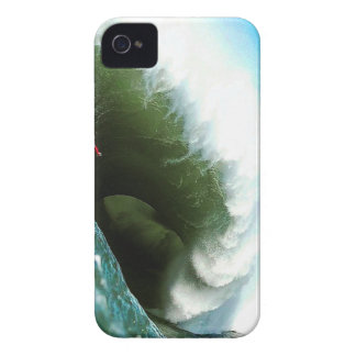 Big Steep Surfing Wave iPhone 4 Cover
