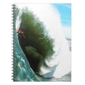 Big Steep Surfing Wave Notebooks