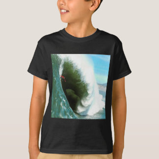Big Steep Surfing Wave T-Shirt