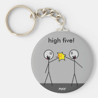 big stick high5, 5!, high five!, -DTT Keychain