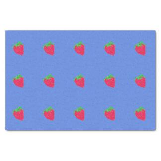 Big strawberries tissue paper