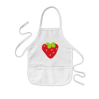 Big Strawberry Kids Apron