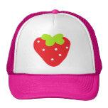 Big Strawberry Mesh Hat