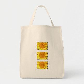 Big Sunflower Organic Grocery Bag