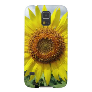 Big Sunflower Sun Flowers Floral Nature Look Case For Galaxy S5