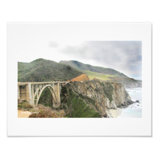 Big Sur Bridge Photo Print