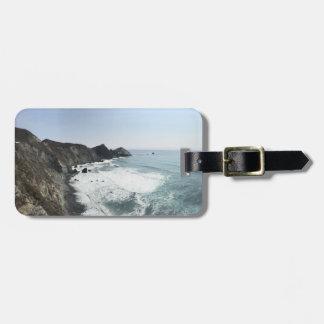 BIG SUR California Pacific Coast Highway Luggage Tag