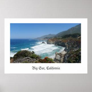 Big Sur, California Poster