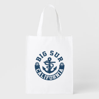 Big Sur California Reusable Grocery Bag