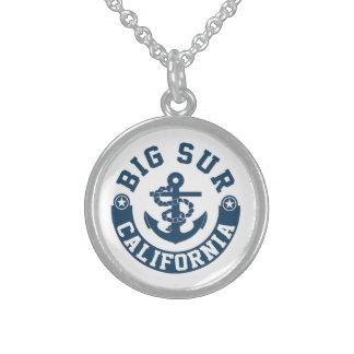 Big Sur California Sterling Silver Necklace