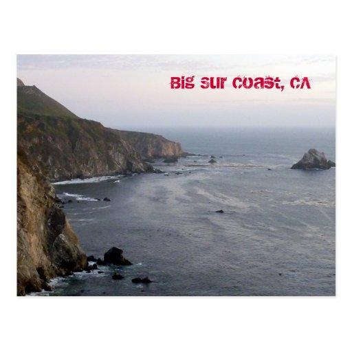 Big Sur Coast Postcard