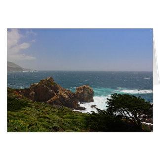 Big Sur Coastline Card
