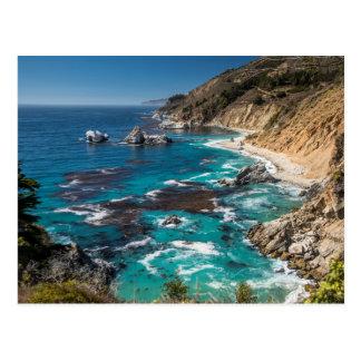 Big Sur Coastline,West Coast,Pacific Coast Postcard