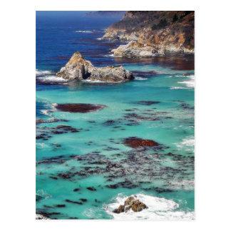Big Sur Ocean Coastlines Post Card
