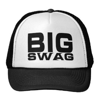 BIG SWAG DESIGNER CAP TRUCKER HAT