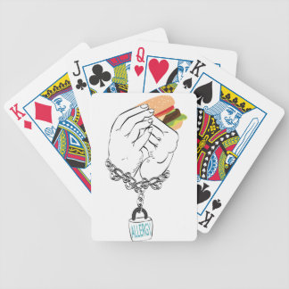 Big Tasty Burger and Hands2 Bicycle Playing Cards