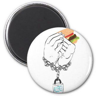Big Tasty Burger and Hands2 Magnet
