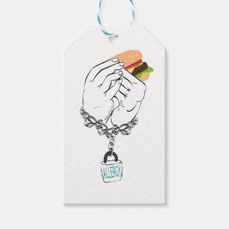 Big Tasty Burger and Hands2 Pack Of Gift Tags