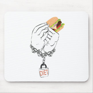 Big Tasty Burger and Hands Mouse Pad