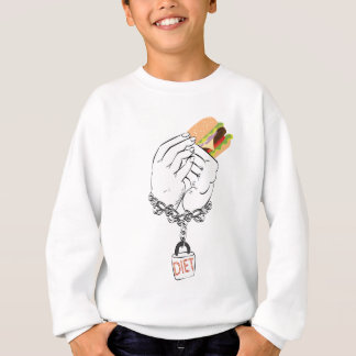 Big Tasty Burger and Hands Sweatshirt