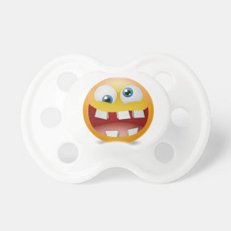 Big Teeth Emoji Dummy, Pacifier
