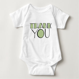 Big Thank You green Infant Shirt