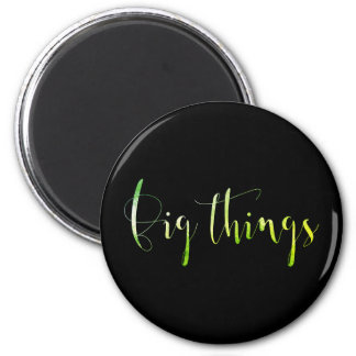Big Thinks Event Blog Editorial Planner Greenly 2 Inch Round Magnet