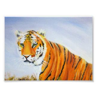 Big Tiger Painting Photo Print
