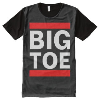 BIG TOE All-Over-Print T-Shirt