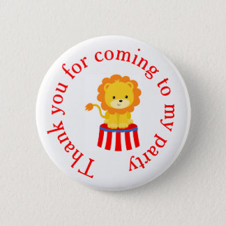 Big Top Circus Carnival 'Thank you for coming' 2 Inch Round Button