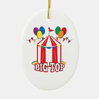 Big Top Tent Ceramic Ornament