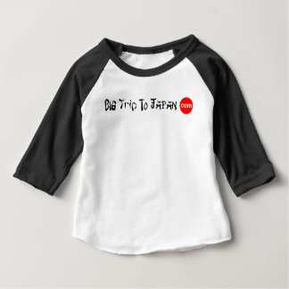 Big Trip To Japan Baby 3/4 Sleeve Baby T-Shirt