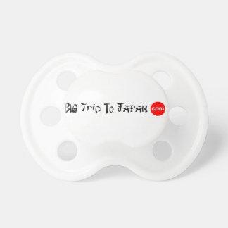 Big Trip To Japan BooginHead® Custom Pacifier 0-6m