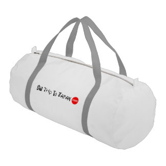 Big Trip To Japan Duffle Gym Bag