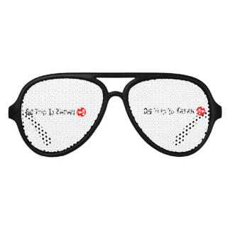 Big Trip To Japan dult Aviator Party Shades