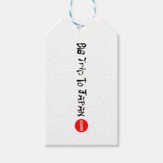 Big Trip To Japan Gift Tag Matte