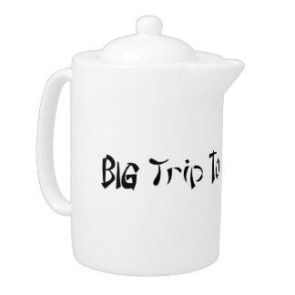 Big Trip To Japan Medium Teapot