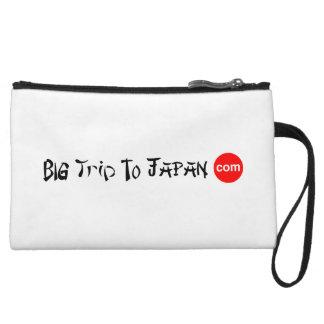 Big Trip To Japan Mini Clutch