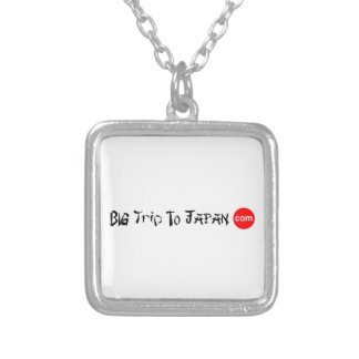 Big Trip To Japan Necklace Silver Plated Small