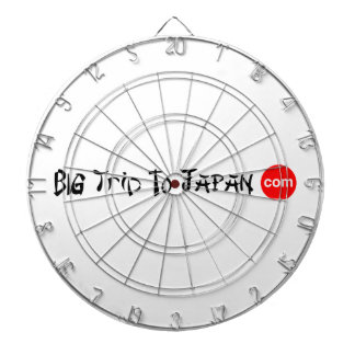 Big Trip To Japan ProfiledInk Dart Board