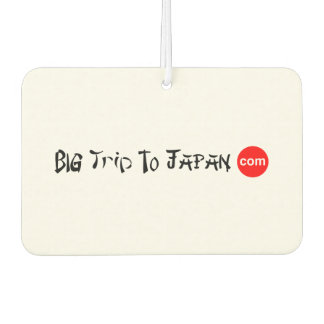 Big Trip To Japan Rectangle Air Freshener