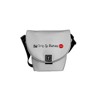 Big Trip To Japan Rickshaw Mini Zero Messenger Bag