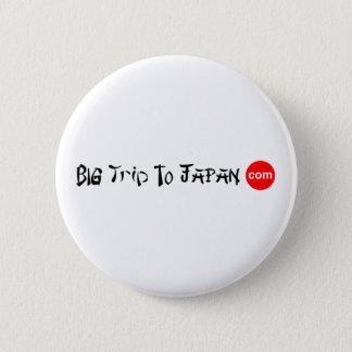 Big Trip To Japan Round Button